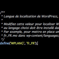 wordpress français