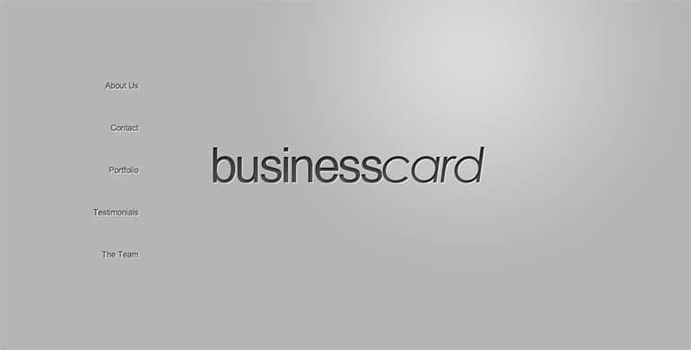 businesscard-theme