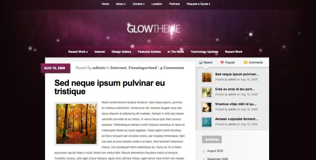 glow theme2