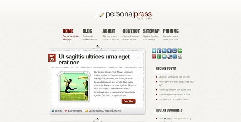 Personnalpress