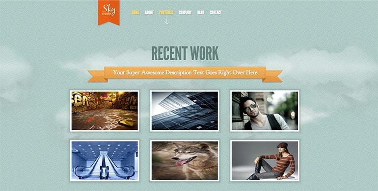 sky-work