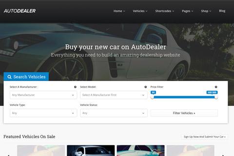 voiture et concessionnaire automobile