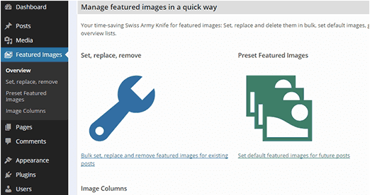 modifier images wordpress