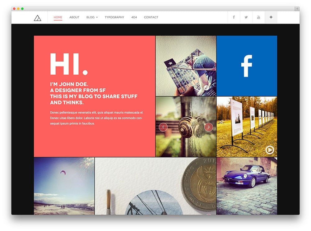 DW Fixel – thème de blog
