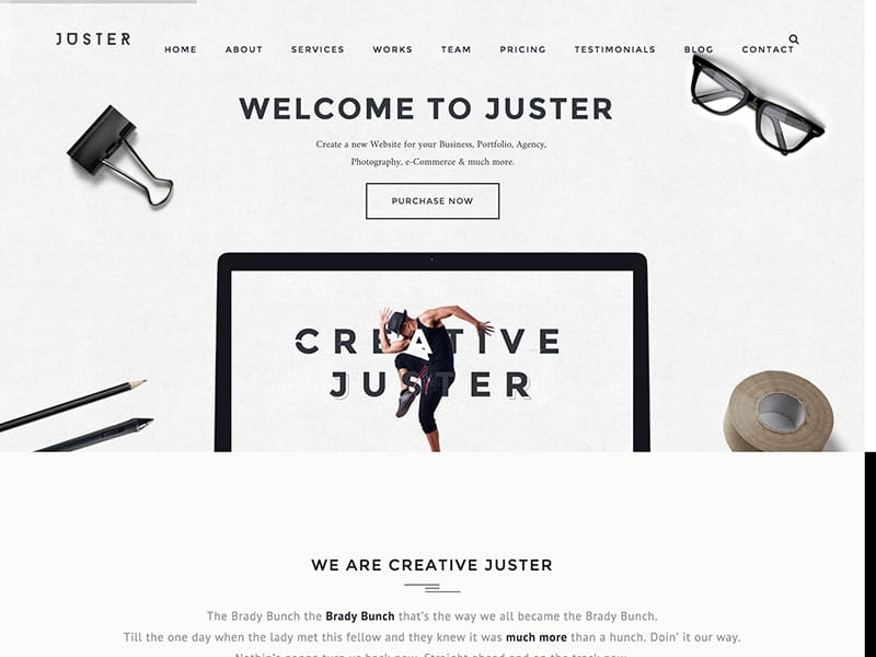 juster-wordpress