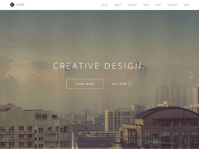 visia thème wordpress