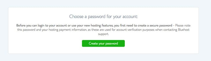 choisir mot de passe