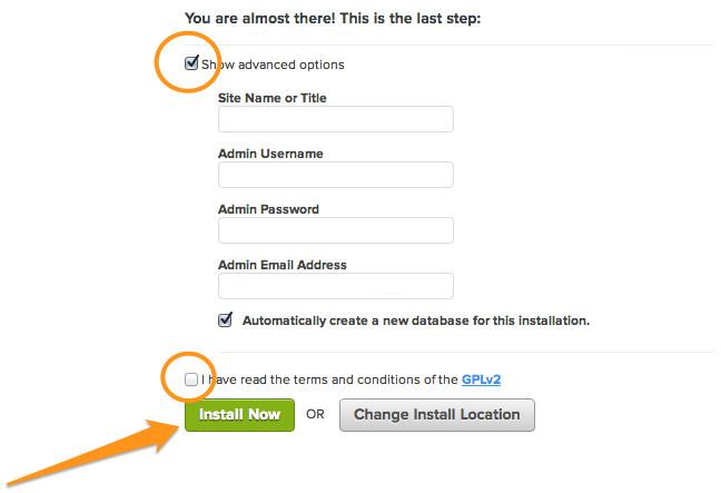 Bluehost options avancées WordPress