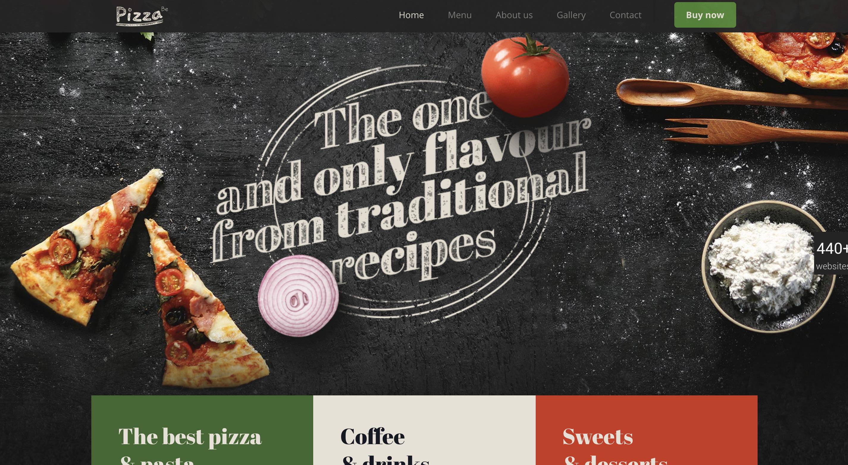 betheme restaurant pizza