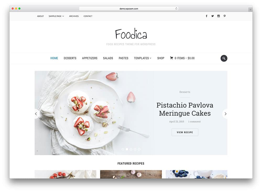 foodica-simple-food-blog-theme