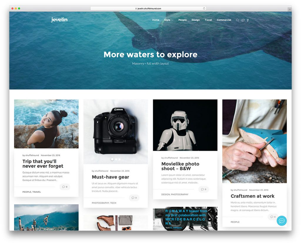 jevelin-masonry-wordpress-blog-theme
