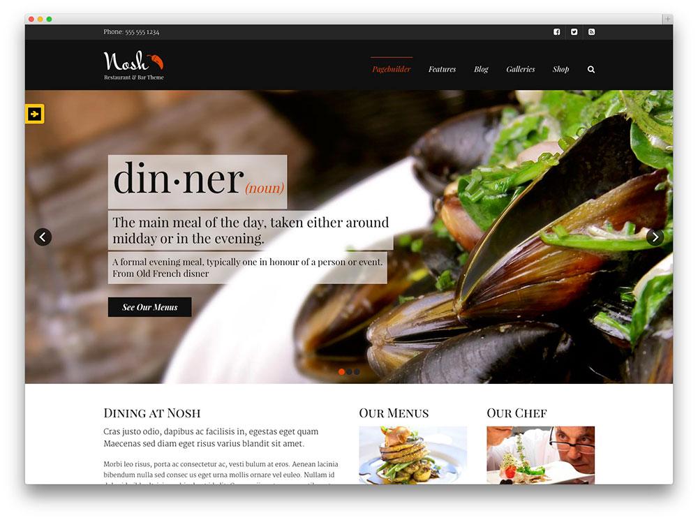 nosh-restourant-theme