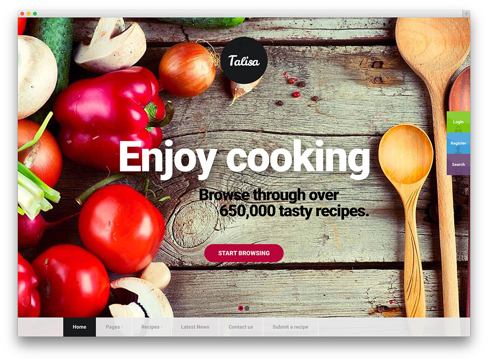 telisa-recipe-sharing-theme