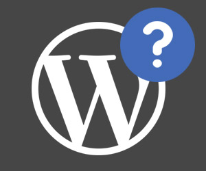 question WordPress