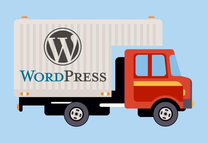 transfert d'un site WordPress