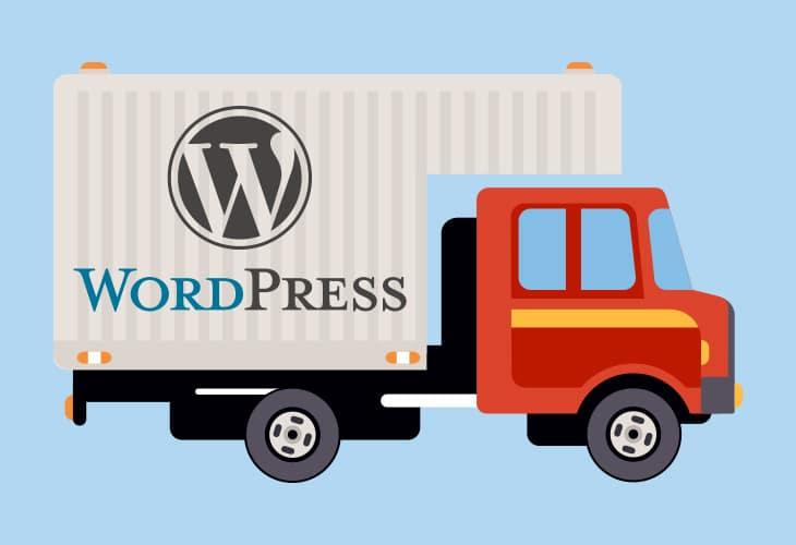 transfert d'un site WordPress