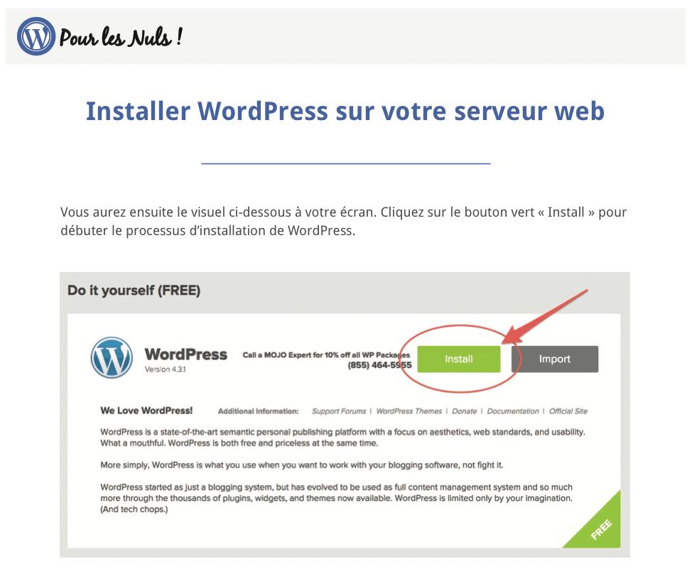 pdf WordPress Pour les Nuls screenshot2