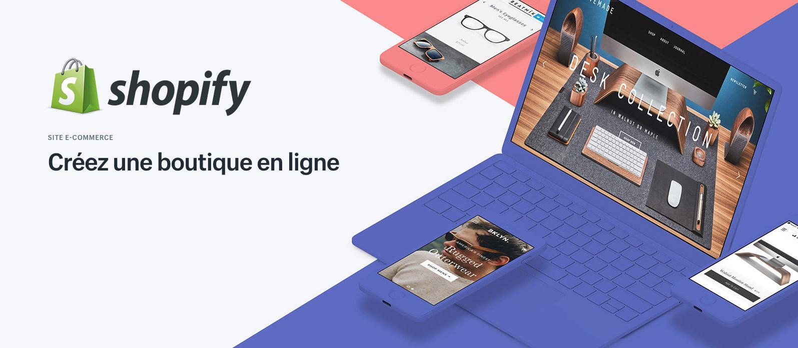 shopify boutique en ligne