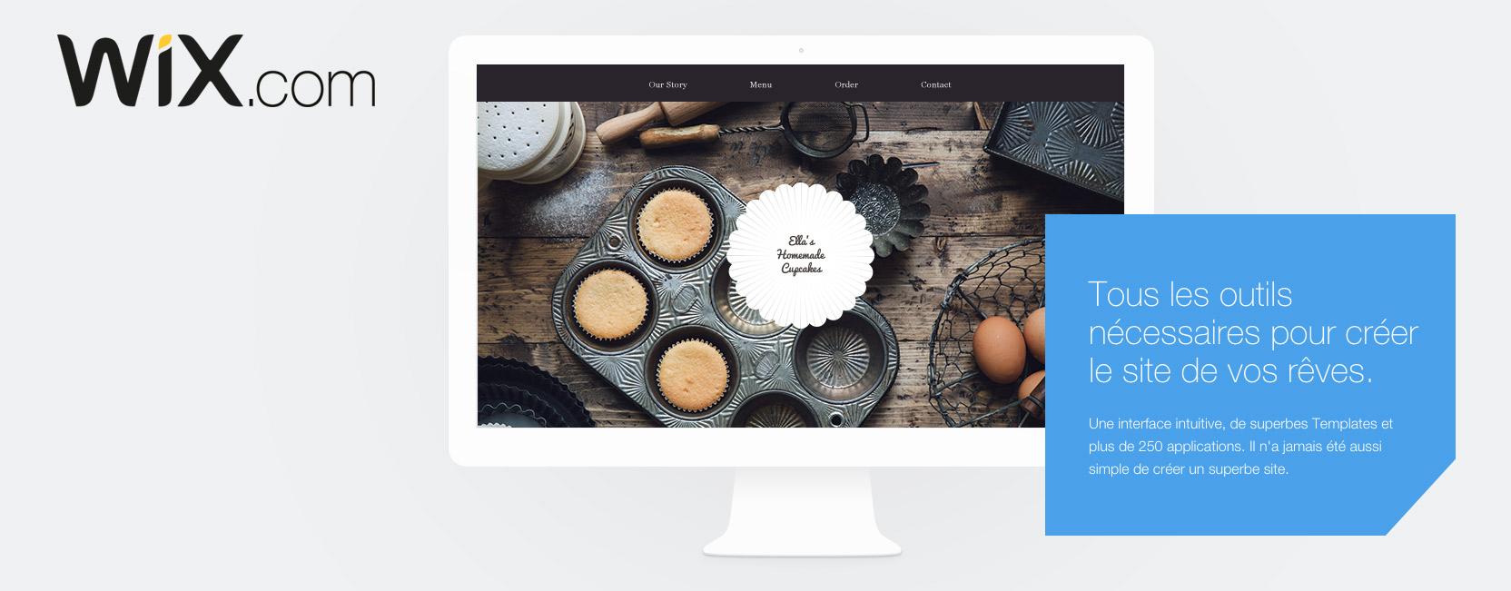 wix site web