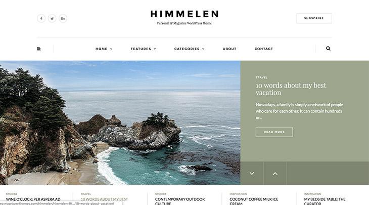 blog voyage Himmelen