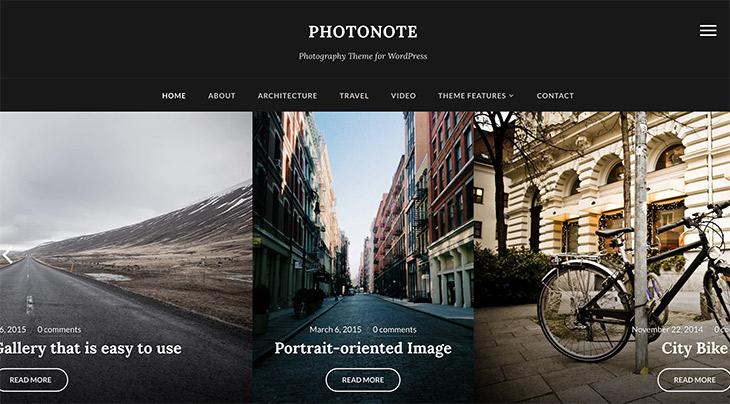 thème Photonote