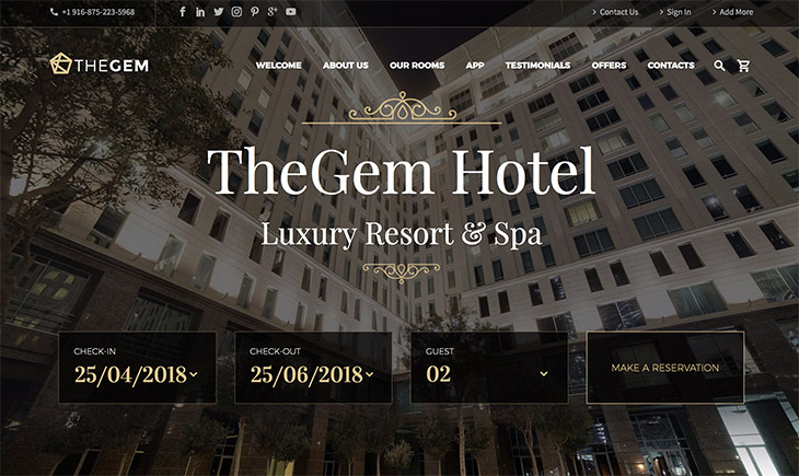 TheGem hotel