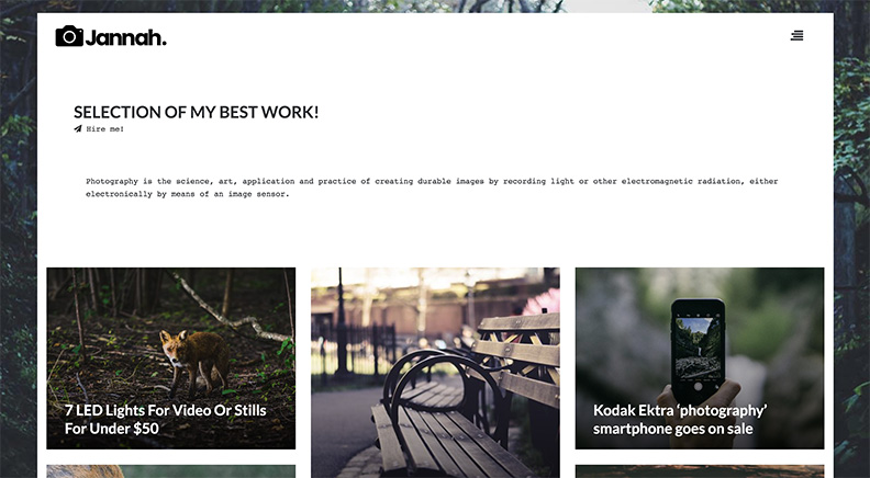 Thème WordPress Jannah