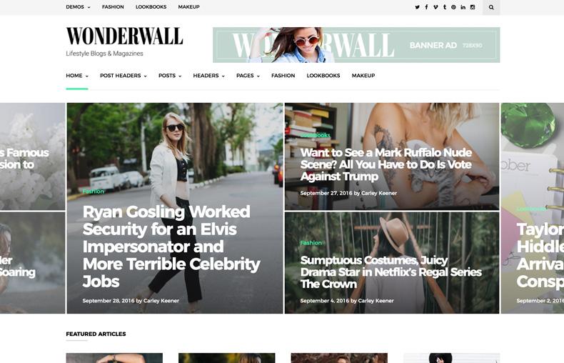 thème WordPress pour Magazine