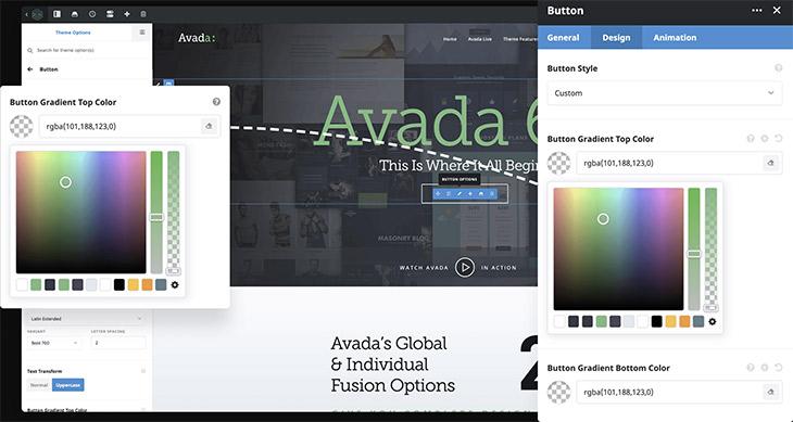 Avada Fusion Builder