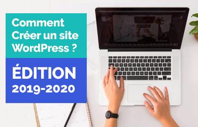 créer un site WordPress
