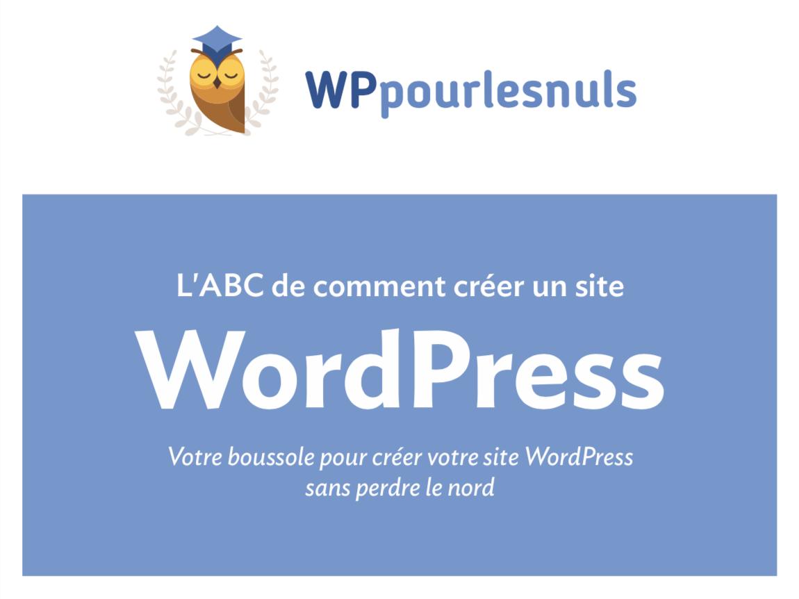 WordPress Pour les Nuls PDF créer site 01