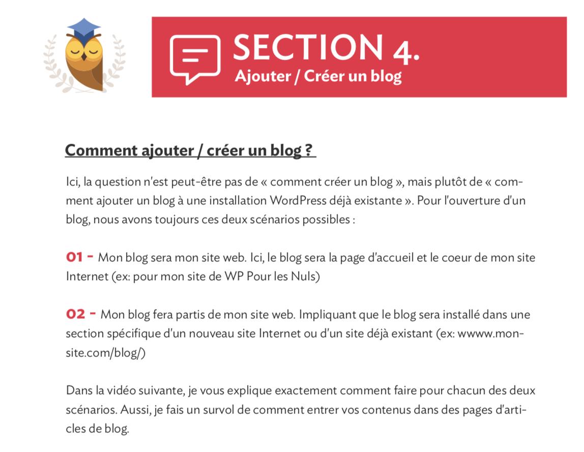 WordPress Pour les Nuls PDF créer site 03