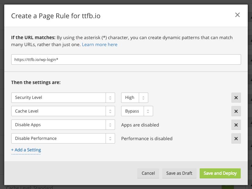 Securing the WordPress admin and login 2
