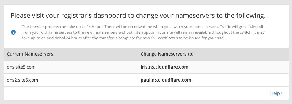 cloudflare dns setup
