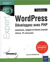 Livre WordPress Développez avec PHP